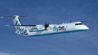 Flybe Bombardier Dash Q400 aircraft