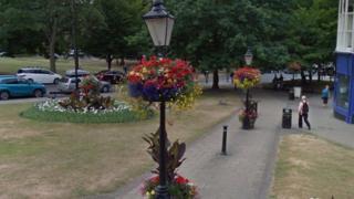 Lampposts in Harrogate