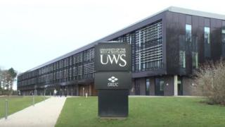 The University of the West of Scotland's Ayr campus