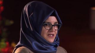 Wadda Jamal Kashoggi za ya aura -Hatice Cengiz