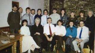 Arweinyddion yr Aelwyd yn 1989