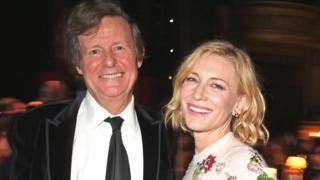 David Hare and Cate Blanchett