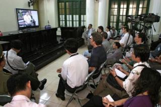 Nhiều phiên toà với cáo buộc tuyên truyền chống lại chính quyền nhân dân đã liên tục được tổ chức trong thời gian gần đây.