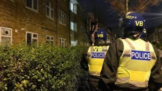 A police raid