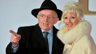 Paul Daniels and Debbie McGee in January 2015