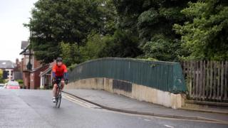 Stoneyhurst Road bridge in South Gosforth