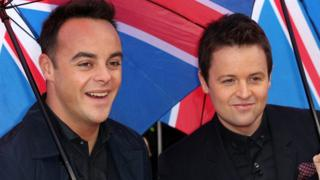 Ant McPartlin (left) and Declan Donnelly