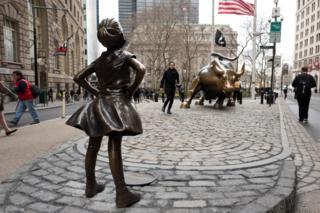 """La """"Niña sin miedo"""" de Wall Street"""