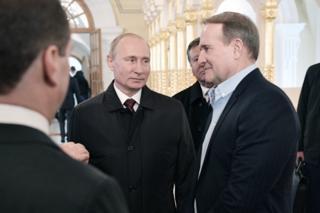 Путин Медведчук