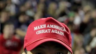 Trump supporter's cap