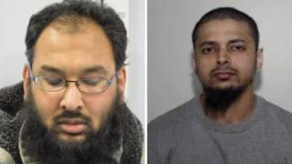 Mohammed Abdul Ahad (left) and Muhammad Abdur Raheem Kamali (right)