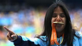 Yanina Martínez gana oro
