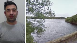 Candido Pereira and Yarrow reservoir