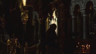 Віряни у Володимирському соборі в Києві