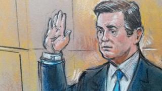 Пол Манафорт в суде