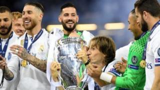 Real Madrid wanawania ushindi wa mara ya tatu mfululizo kutaka kushinda taji la klabu bingwa Ulaya