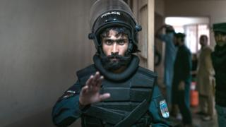 Afghan police officer in Pul-e-Charkhi prison