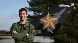 Flight Lieutenant Nathan Shawyer