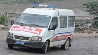 China ambulance (file image)