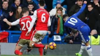Eden Hazard amepona jeraha la kifundo cha mguu na anaweza kuanza mechi yake ya kwanza tangu msimu uanze dhidi ya Arsenal