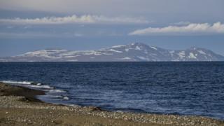 View at Lorino, Chukotka, 24 Jun 18