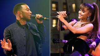 John Legend and Ariana Grande