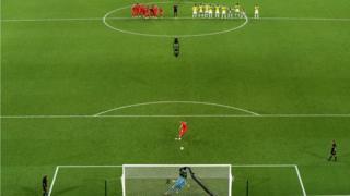 Erik Dier's penalty