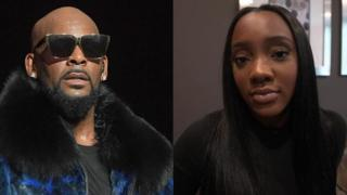 R Kelly and Faith Rodgers