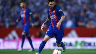 L'attaquant argentin Lionel Messi a marqué 507 buts en 583 matchs sous le maillot du Barça