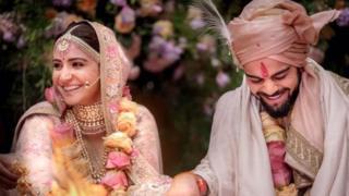 विराट अनुष्का की शादी