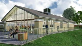 Artist impression of the extended day therapy unit