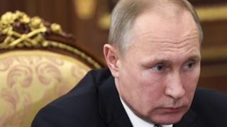 Russian President Vladimir Putin (03 February 2017)
