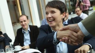AfD Eş Genel Başkanı Frauke Petry