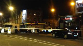 The man, who is originally from County Tyrone, was shot in the Sunset House bar near Croke Park