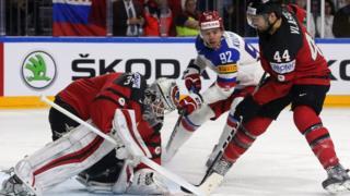 матч по хоккею между россией и канадой