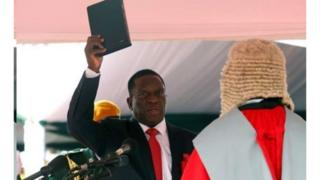 Mw'ijambo ryiwe agishishikira ubutegetsi, prezida Mnangagwa yiyemeje gusubiza itoto ubutunzi bwa Zimbabwe bugeze ahatemba.