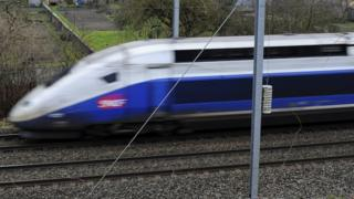 File pic; A TGV high speed train in France in 2015