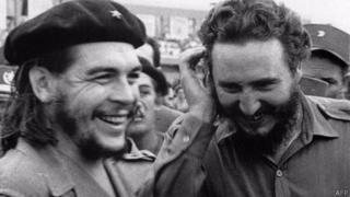 Che Guevara cùng Fidel Castro thời kỳ Cách mạng Cuba