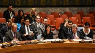 نیکی هیلی در شورای امنیت