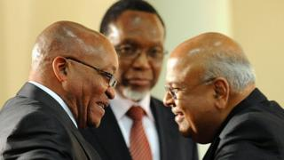 Zuma and Gordhan