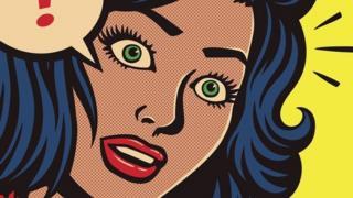 صورة تعبيرية لذهول امرأة