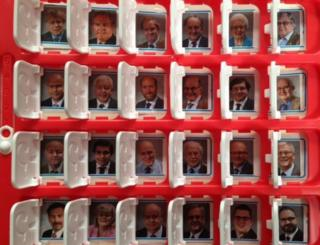 Norfolk councillors in Guess Who game