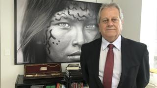 Presidente da Funai, Antônio Costa