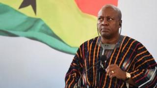 Shugaba John Dramani Mahama ya sha kasa a zaben 2016