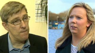 John O'Dowd and Catherine Seeley