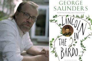 George Saunders and Lincoln in the Bardo book jacket