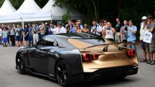نیسان GT-R50 را با همکاری استودیوی ایتالدیزان طراحی کرده است