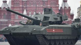 Armata tankı Rusya'nın Sovyet döneminden kalma araçlarının yerine geçiyor
