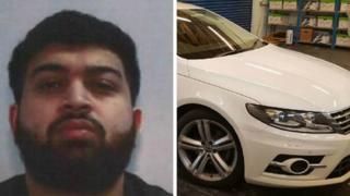 Salman Gull and VW Passat