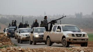 Urunani rushasha rugizwe n'abahoze mu mugwi wari uzwi nka al-Nusra, wahora ukorana n'umugwi w'abarwanyi ba ki Islam, Al Qaeda